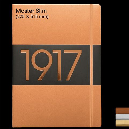 1917 Metallic Edition Notebooks Master Slim