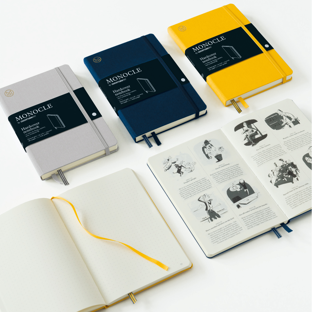 Hardcover notebooks Monocle by LEUCHTTURM1917