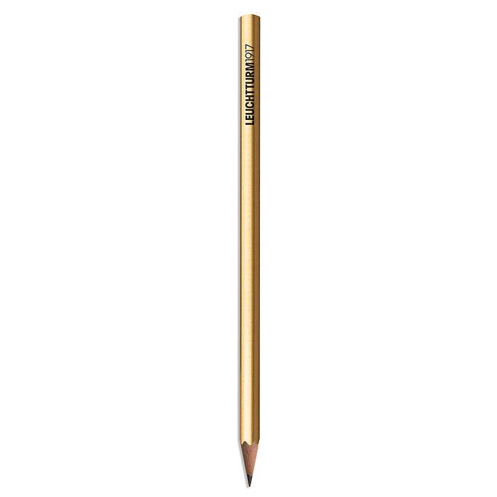 Pencil HB, LEUCHTTURM1917, Gold