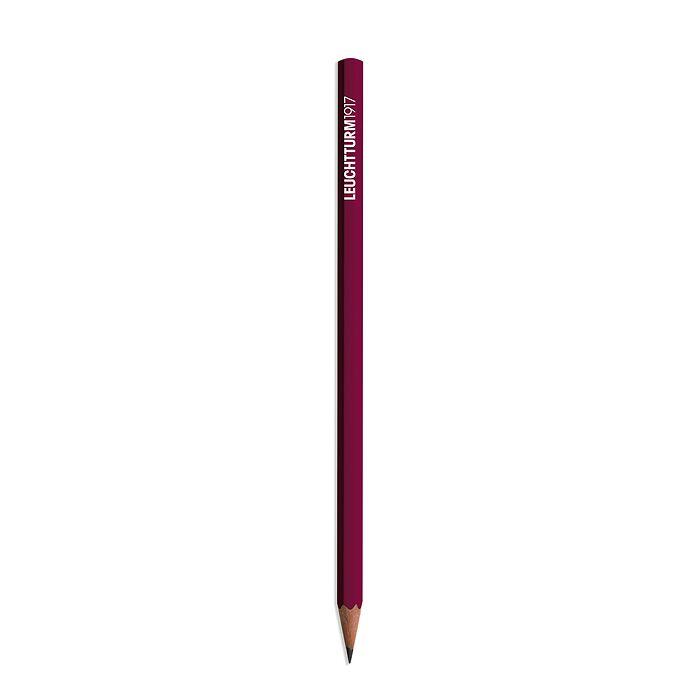 Pencil HB, LEUCHTTURM1917, Port Red