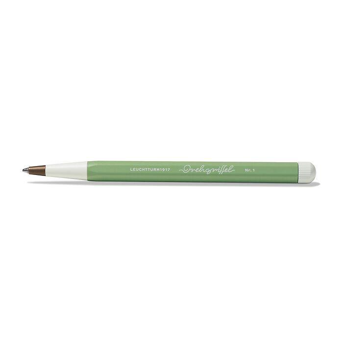 Drehgriffel Nr. 1, Sage - Ballpoint pen with royal blue ink