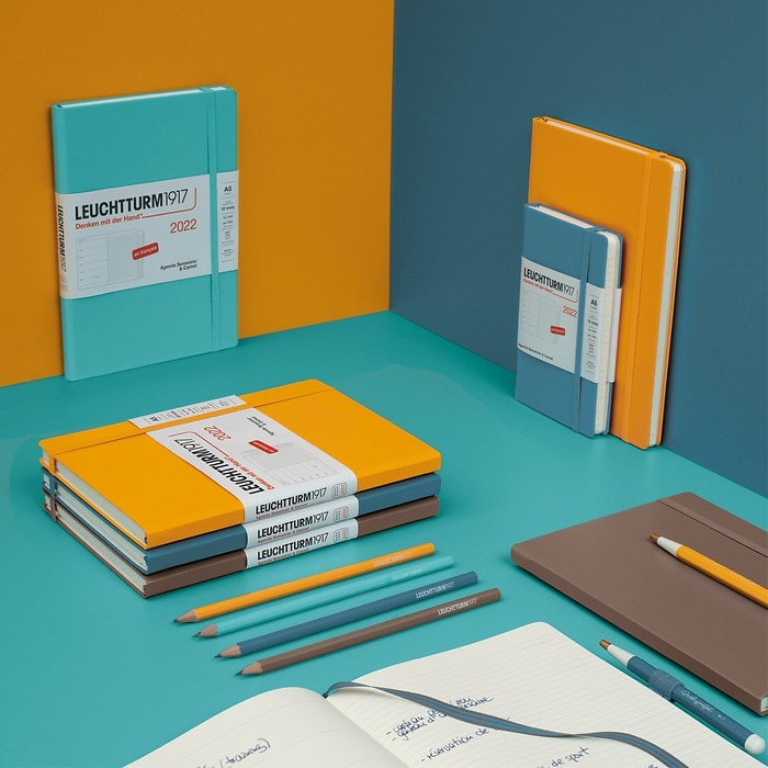 Weekly Planner & Notebook, french