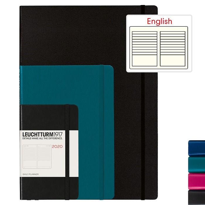 Daily Planner 2020 - English