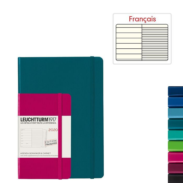 Weekly Planner & Notebook 2020 - French