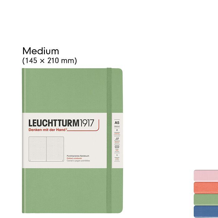 Muted Colours – Notebooks Hardcover